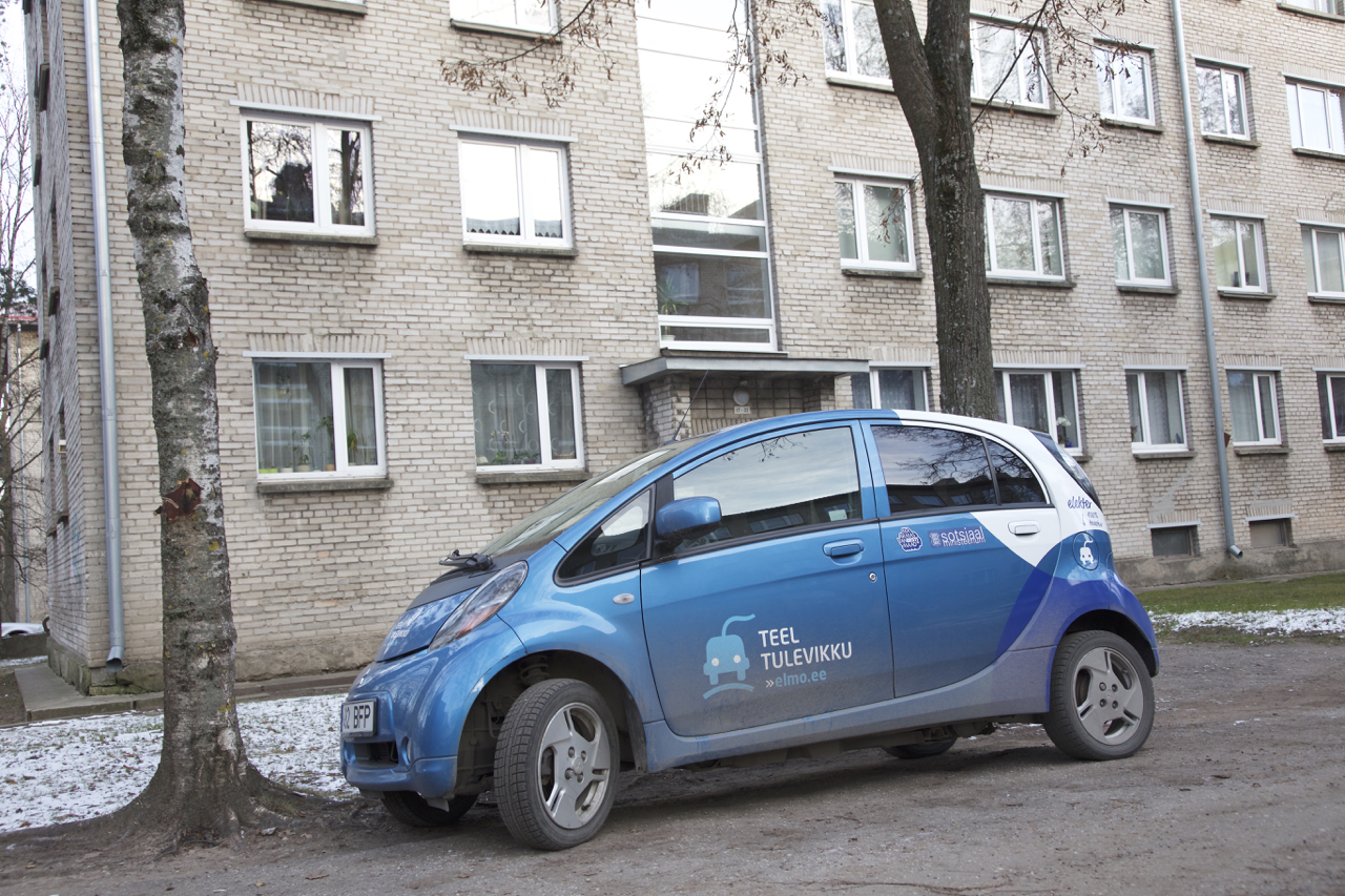 Electric Car Rental >> Electric Vehicle Rental Point Opened Near The Tartu Bus